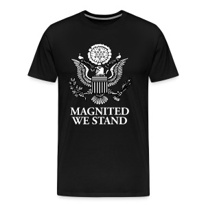 Magnited We Stand - Black Shirt - Men's Premium T-Shirt