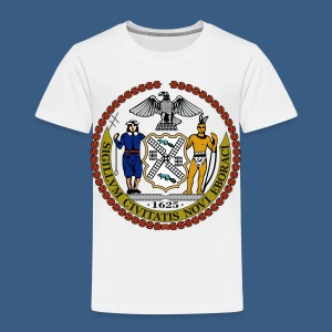 New York City Seal - Toddler Premium T-Shirt