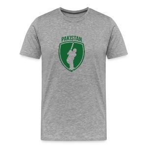 Pakistan Cricket Crest - Men's Premium T-Shirt