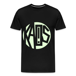 Kaos Sphere Glow In The Dark - Men's Premium T-Shirt