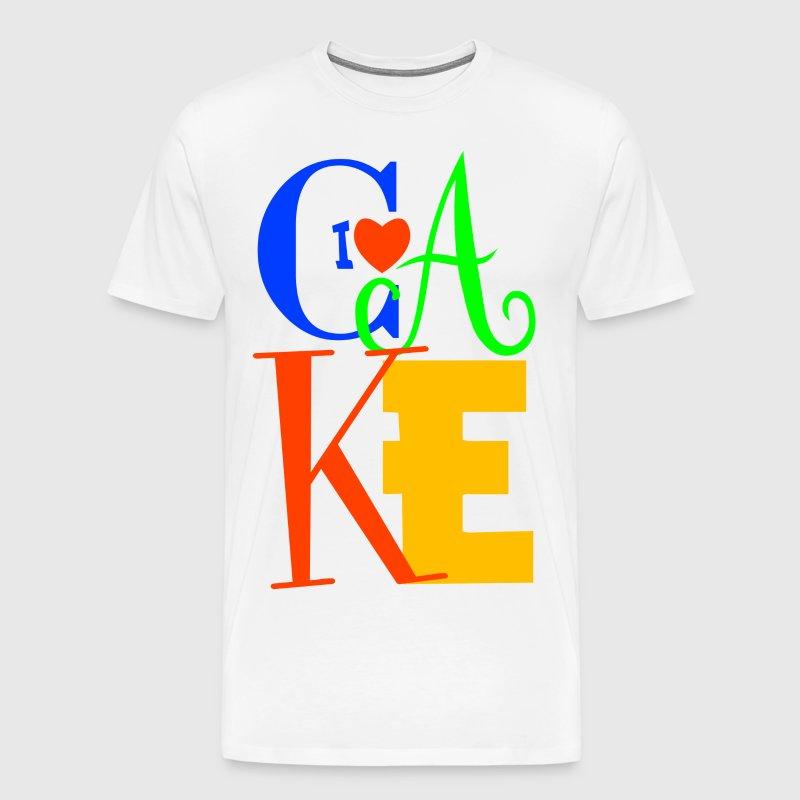 I love cake t shirt spreadshirt for T shirt cake decoration