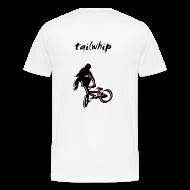 T-Shirts ~ Men's Premium T-Shirt ~ BMX T Shirt - Tailwhip Trick