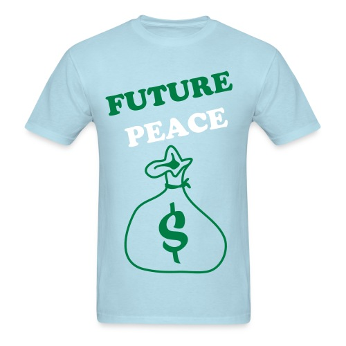 FUTURE'PEACE MONEY BAG TEE - Men's T-Shirt