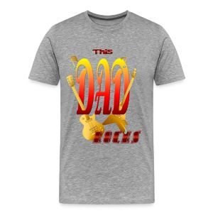 This DAD Rocks! - Men's Premium T-Shirt