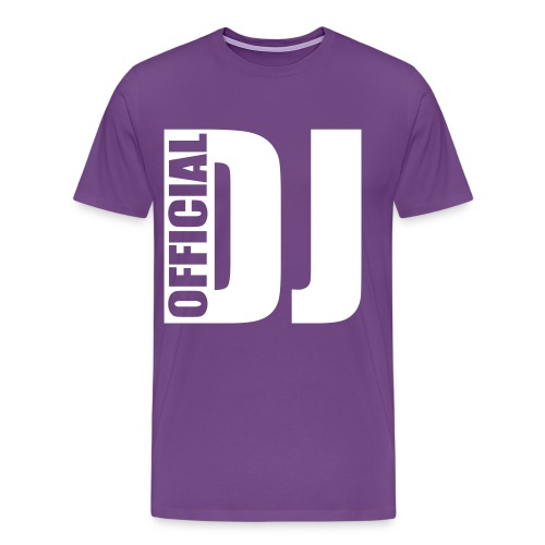 OFFICIAL DJ SISTAS - Men's Premium T-Shirt