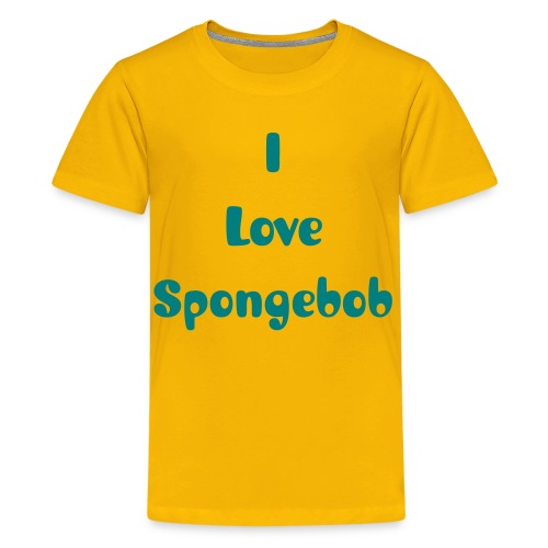 I Love Spongebob - Kids' Premium T-Shirt