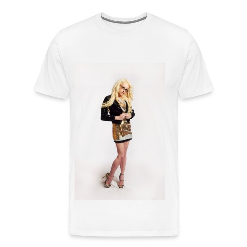Johnnyboyxo Blonde Barbie T-shirt - Men's Premium T-Shirt