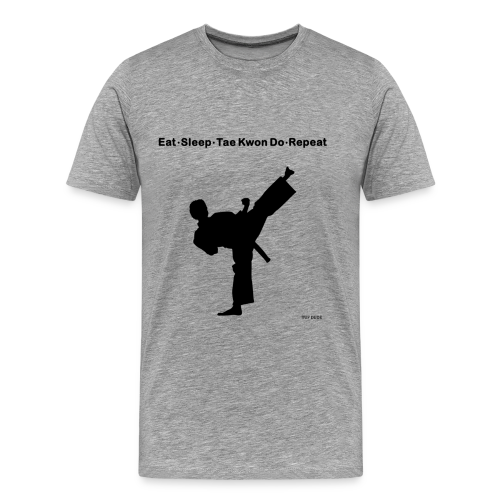 Eat Sleep Tae Kwon Do Repeat - Men's Premium T-Shirt