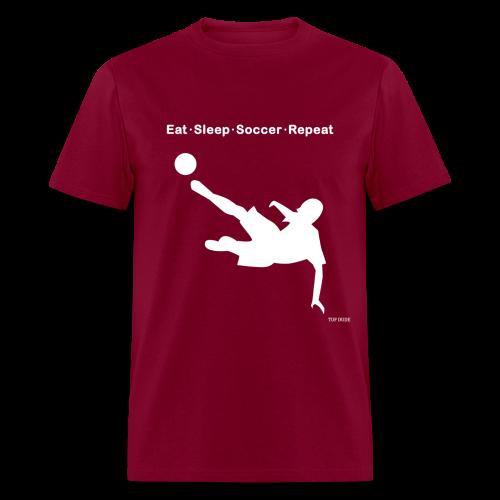 Eat Sleep Soccer Repeat - Men's T-Shirt