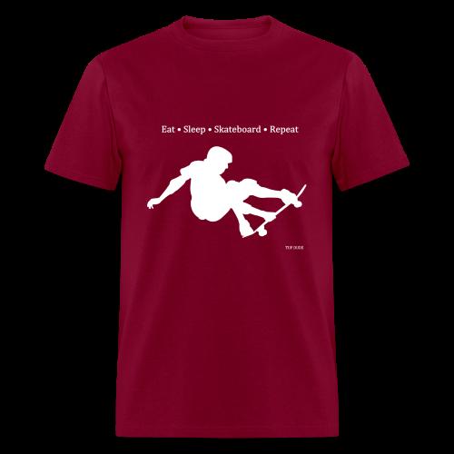 Eat Sleep Skateboard Repeat - Men's T-Shirt