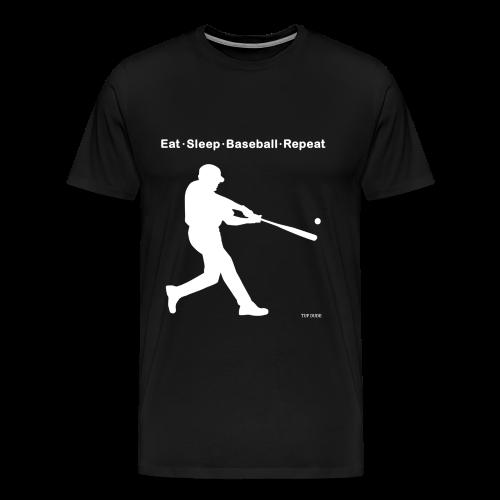 Eat Sleep Baseball Repeat - Men's Premium T-Shirt
