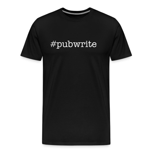 Pubcrew: Where Spirits and Words Come Together - Men's Premium T-Shirt