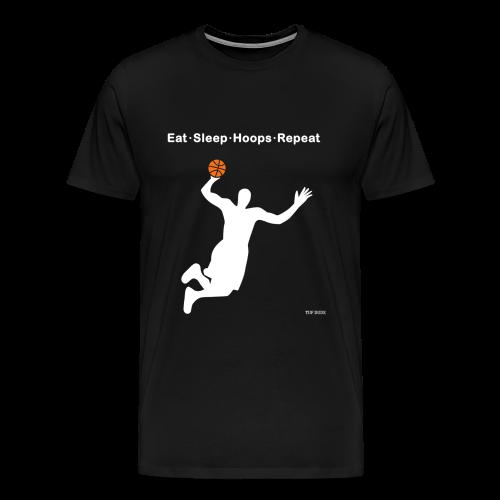 Eat Sleep Hoops Repeat - Men's Premium T-Shirt