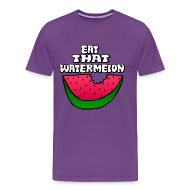T-Shirts ~ Men's Premium T-Shirt ~ Eat That Watermelon Men's T