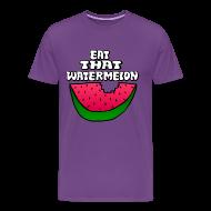 T-Shirts ~ Men's Premium T-Shirt ~ Eat That Watermelon Men's T