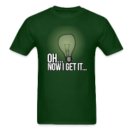 T-Shirts ~ Men's T-Shirt ~ Realization Male T