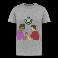 T-Shirts ~ Men's Premium T-Shirt ~ Sly & PBat Comradery Men's T