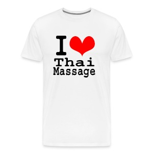 I love Thai massage - Men's Premium T-Shirt