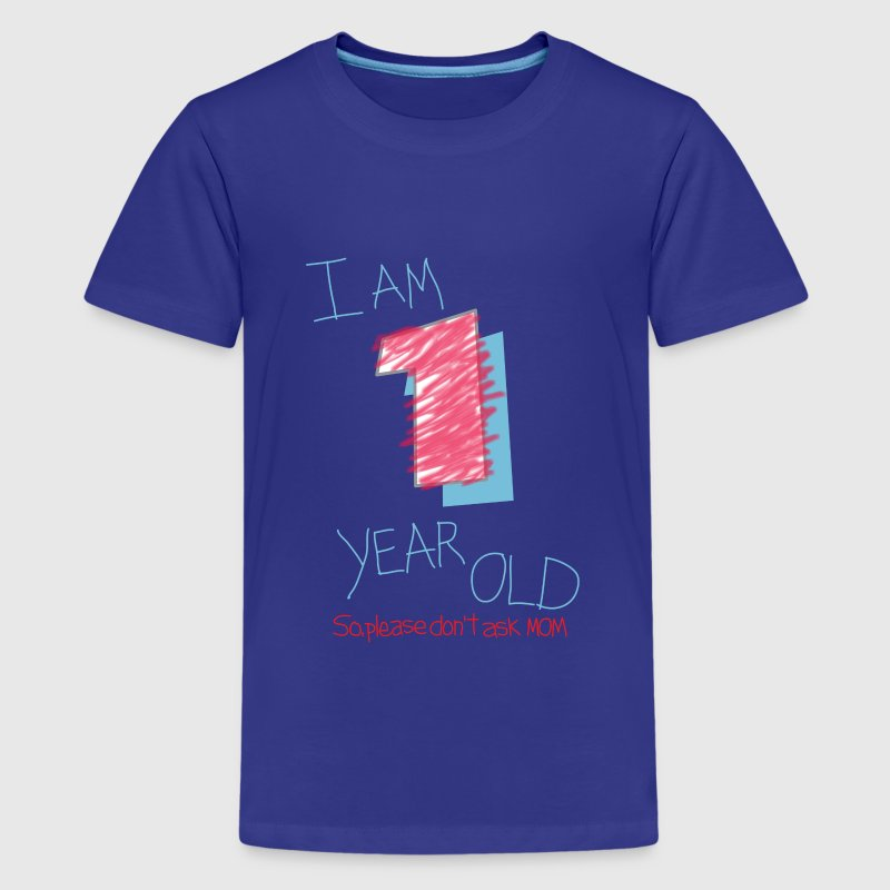 I'm one year old (boy) Kids' Shirts - Kids' Premium T-Shirt