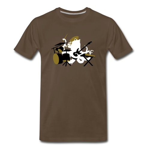 Rocktopus-Mens - Men's Premium T-Shirt