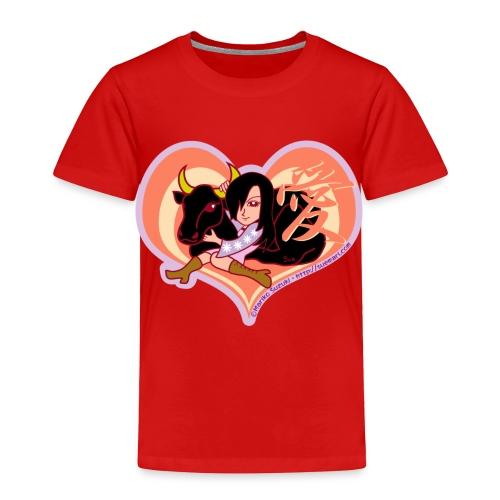 Girl and Ox - Toddler Premium T-Shirt