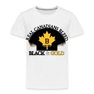 Real Canadians... - Toddler Premium T-Shirt