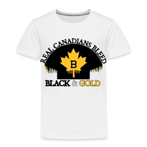 Real Canadians... - Toddler Premium T-Shirt