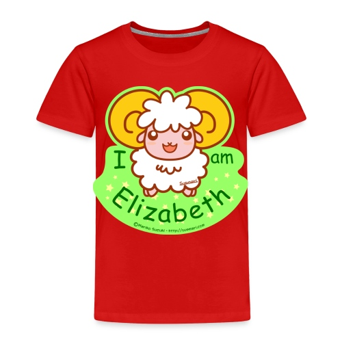 I am Elizabeth - Toddler Premium T-Shirt