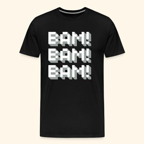 Bam! Bam! Bam! - Men's Premium T-Shirt