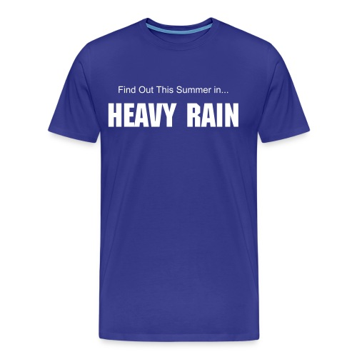 THIS SUMMER IN HEAVY RAIN TEE - Men's Premium T-Shirt