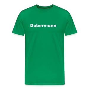 Dobermann Shirt - Men's Premium T-Shirt