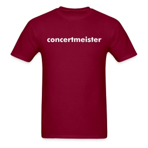 Concertmeister (Konzertmeister) - T-Shirt - Men's T-Shirt