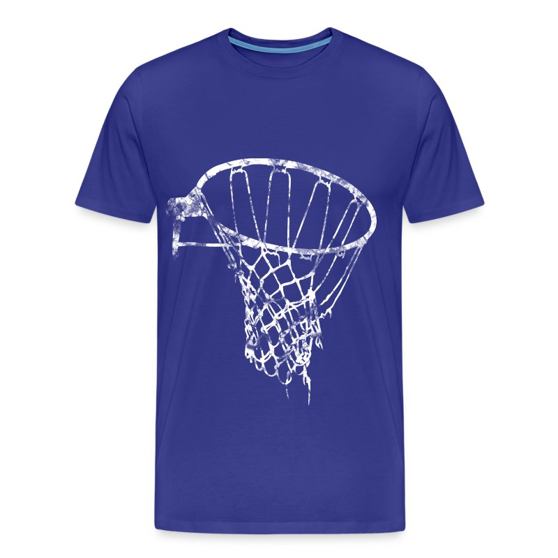 basketball net used look retro t shirt spreadshirt