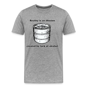 Famous Beer Quotes (Lack Oa Alcohol) - Men's Premium T-Shirt