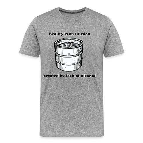 Famous Beer Quotes (Lack Oa Alcohol) - Men's Premium T-Shirt
