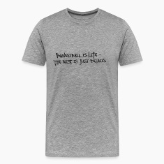 Basketball Is Life Slogan Used Look Retro T-Shirts