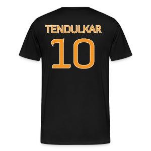 Tendulkar #10 shirt / jersey (in honor of 2011 World Cup Champion Indian Cricket Team) - Men's Premium T-Shirt