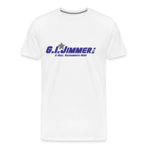 GI Jimmer White Shirt - Men's Premium T-Shirt
