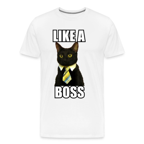 Cat Boss - Men's Premium T-Shirt