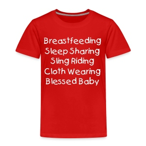 Blessed Baby - Toddler Premium T-Shirt