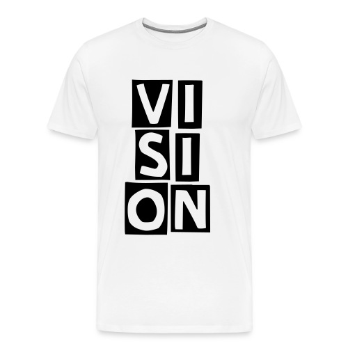 Vision Block - Men's Premium T-Shirt