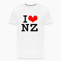 I Love NZ T-Shirts