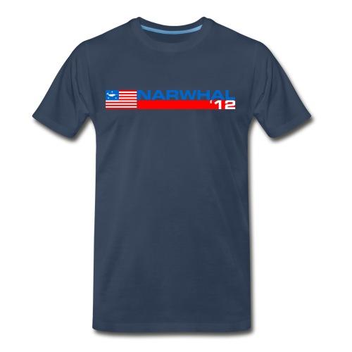 Narwhal Banner - Men's Premium T-Shirt