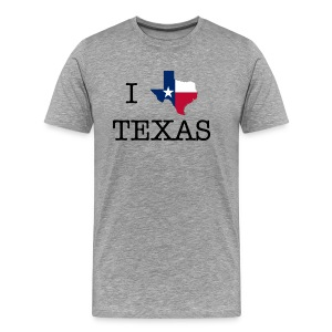 I Texas Texas - Men's Premium T-Shirt