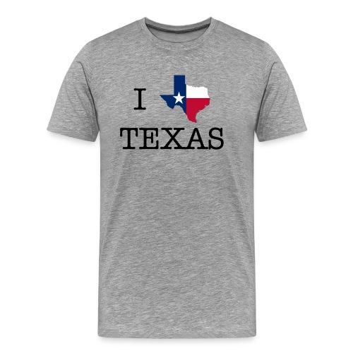 I Texas Texas - Men's Premium T-Shirt