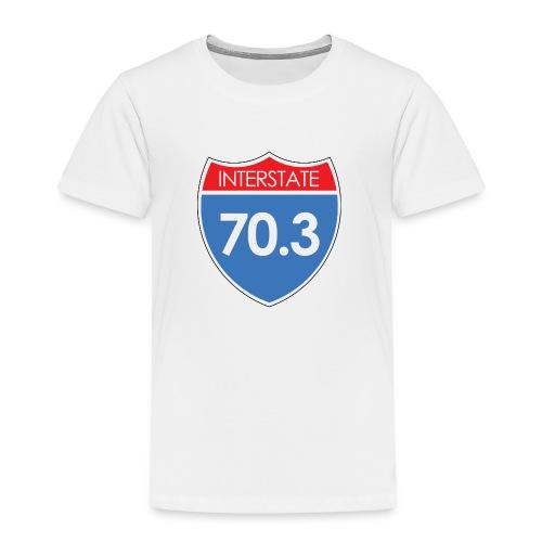 Interstate 70.3 - Toddler Premium T-Shirt