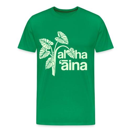 (Hawaiian) Aloha Aina 3X - Men's Premium T-Shirt