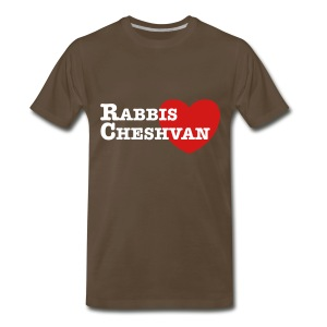 Brown with white/pink - Men's sizes - Men's Premium T-Shirt