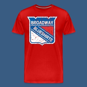 Broadway Blueshirts - Men's Premium T-Shirt
