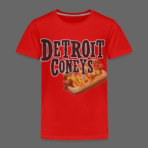 Detroit Coneys Toddler T-Shirt - Toddler Premium T-Shirt